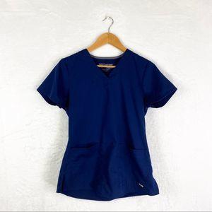 Grey's Anatomy Barco Blue Scrub Short Sleeve